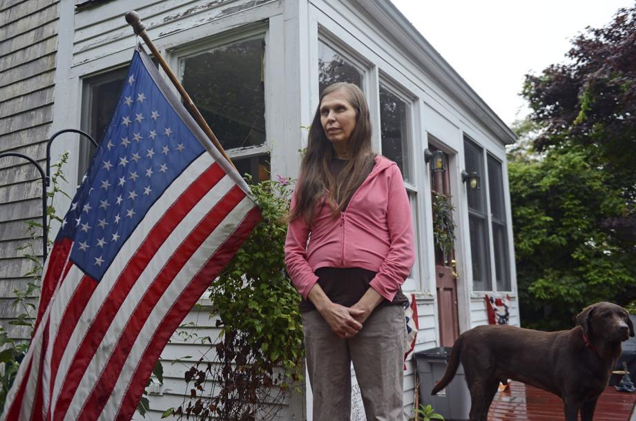 Heather Little-Andrade, photographed at her home in Dighton, said she is glad her daughter wants to move from her South Boston apartment.